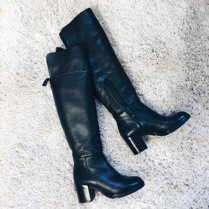 Zara Overknees Overknee Stiefel Gr. 38