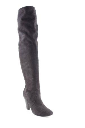 Zara Botas sobre la rodilla negro elegante