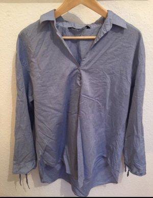 Zara oversize Bluse aus Baumwolle