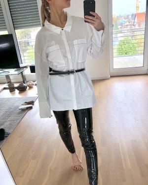 Zara Oversize Bluse Gr. XS Weiß Hemd
