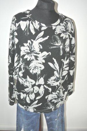 Zara Oversize Pullover Blumen