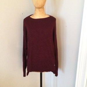 Zara Oversize Pullover Gr. S bordeaux