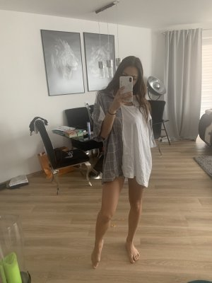 Zara Camisa holgada multicolor