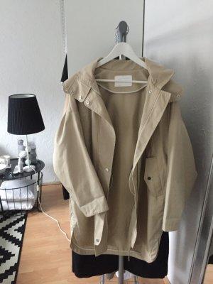 Zara Oversize Trenchcoat mit Kapuze S
