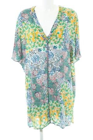 Zara Blouse oversized motif de fleur style extravagant