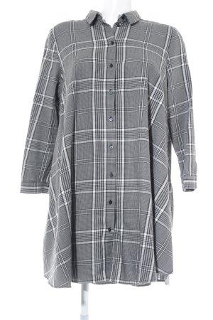 Zara Oversized Bluse Karomuster Casual-Look