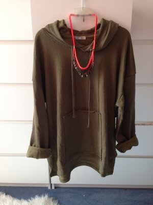 Zara Oversized hoodie Khaki