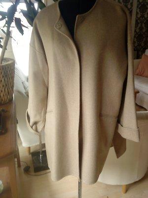 Zara Oversized Mantel beige Größe M neuwertig