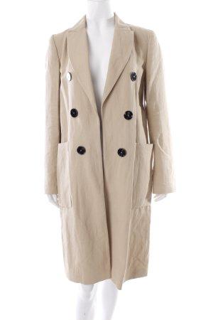 Zara Oversized Mantel hellbeige 40ies-Stil