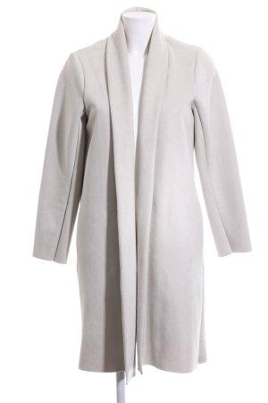 Zara Oversized Mantel hellgrau Casual-Look