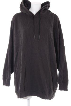 Zara Oversized Pullover anthrazit Boyfriend-Look