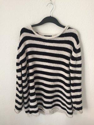 Zara oversized Pullover gestreift