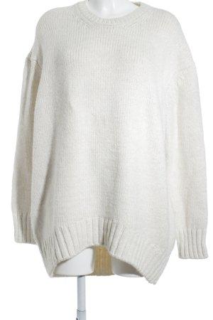 Zara Oversized Pullover hellbeige