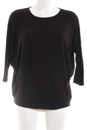 Zara Oversized Shirt schwarz Casual-Look