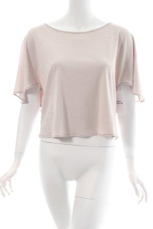 Zara Oversized Shirt hellbeige schlichter Stil