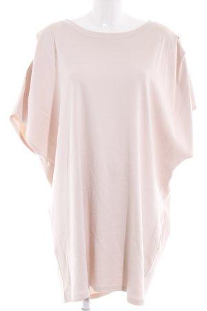 Zara Oversized Shirt nude Casual-Look