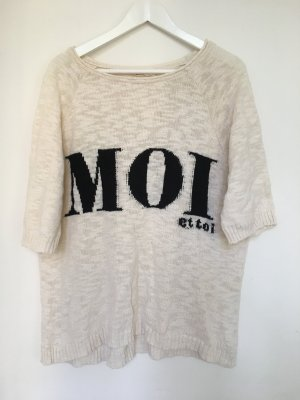 Zara Oversized Shirt/ Pullover Knit Statement