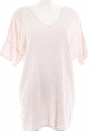 Zara Oversized Shirt rosé Casual-Look