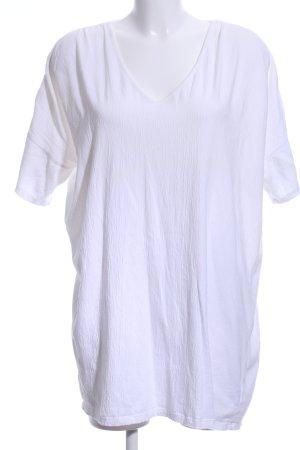 Zara Camisa holgada blanco look casual