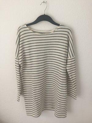 Zara Oversized Streifen Sweater