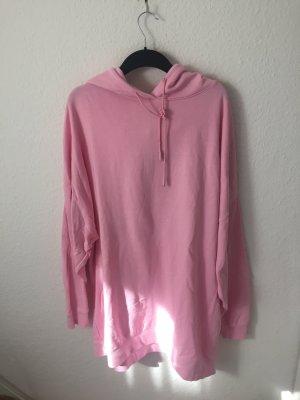 Zara oversized Sweatshirt mit Kapuze Pink