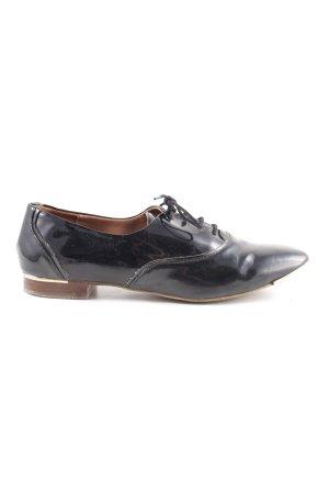 Zara Zapatos estilo Oxford negro estilo «business»