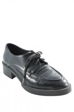 Zara Zapatos estilo Oxford negro estilo «business»
