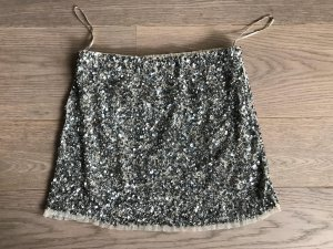 ZARA- Pailletten Mini Rock