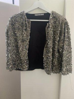 Zara Blouse Jacket multicolored