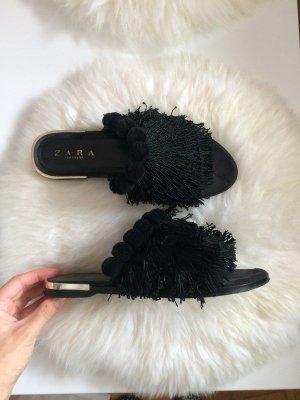 Zara Mules black