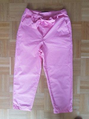 Zara Paperbag Culotte Hose Pink