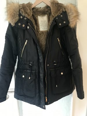 Zara Parka negro