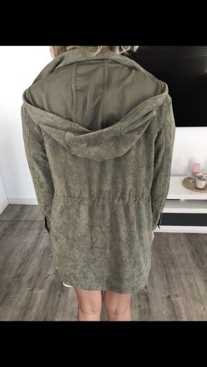 Zara Cappotto corto cachi