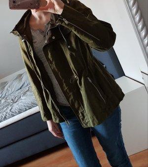 Zara Parka olive/kaki L