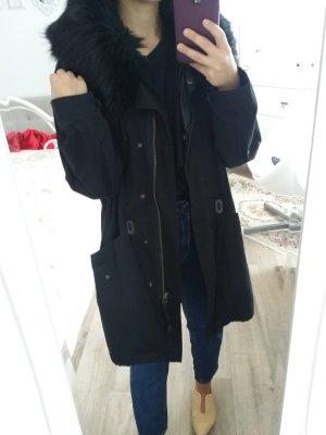 Zara Parka zwart