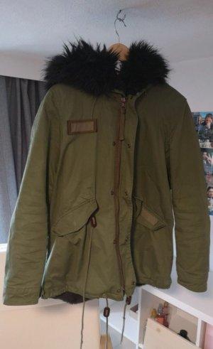 Zara Winter Jacket multicolored