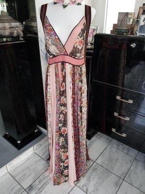 Zara Patchwork-Kleid mit Glitzereffekt Studio Gr.S Neu