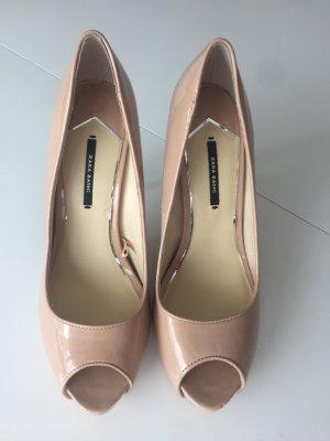 Zara Peep Toes Größe 39 NEU! Ungetragen!