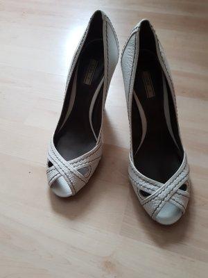 Zara Peep Toes weiß 39