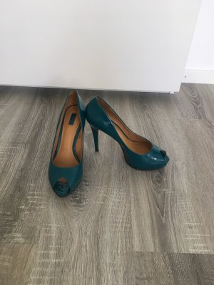 Zara Peeptoe Pumps