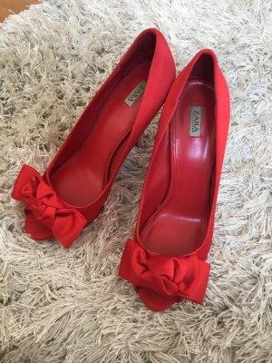 Zara Escarpins rouge