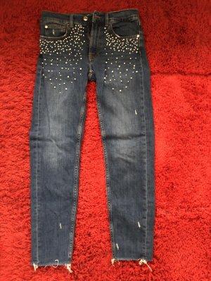 Zara Perlen Jeans