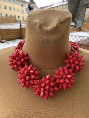 Zara Statement Necklace pink
