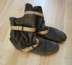 Zara Pirate Boots Slouch Stiefel Gr. 39 made in Portugal