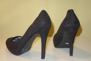 ZARA Plateau Pumps in schwarz Gr.40