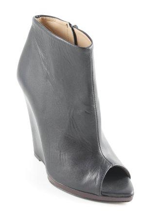 Zara Plateau-Pumps schwarz Elegant