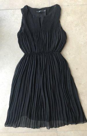 Zara Chiffon Dress black