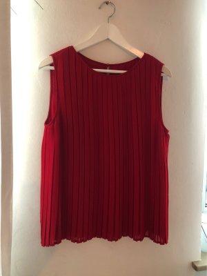 Zara Basic Slip-over blouse rood