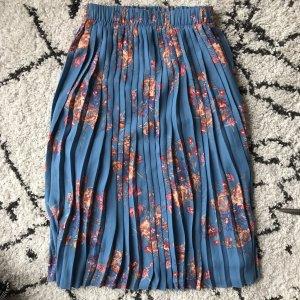 Zara Jupe plissée multicolore