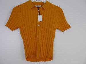 Zara Polo Shirt multicolored mixture fibre